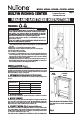 NuTone AVD50N Installation manual - Page 1