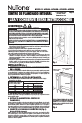NuTone AVD50N Installation manual - Page 5