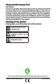 Beko MGB 25333 BG Operation & user's manual - Page 2