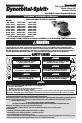 Dynabrade 21065 Operation and maintenance manual - Page 1