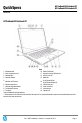 HP ProBook 455 Specification - Page 1
