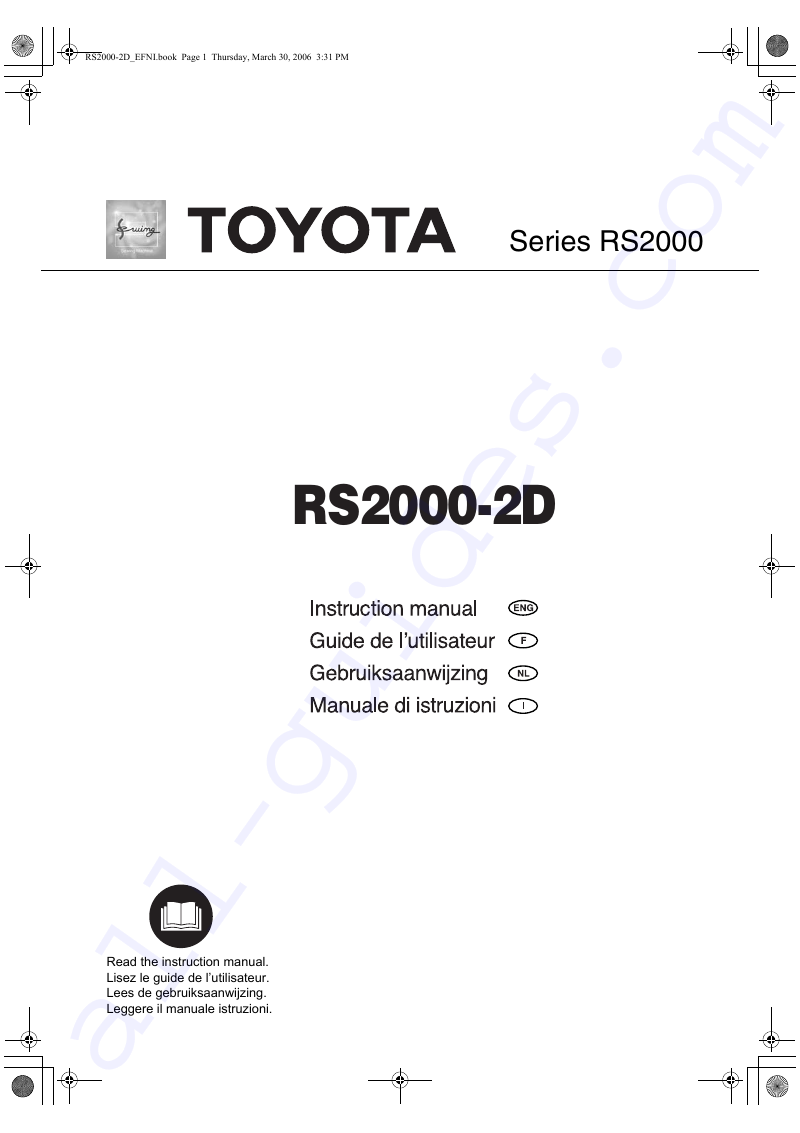 Toyota Rs2000